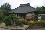 宝積寺(裏手に会津藩の鉄砲練習場)