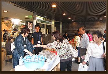 「京の七夕」にて観光PR・物産展開催
